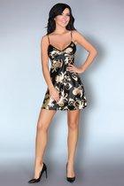 Сорочка Dragana на тонких бретелях, цвет черный, размер M - Livia Corsetti