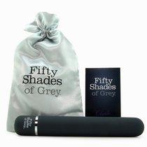 Темно-серый вибромассажер Charlie Tango - 18,4 см, цвет черный - Lovehoney