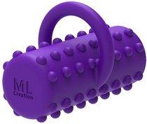 Фиолетовая вибропулька на палец Power Finger, цвет фиолетовый - ML Creation