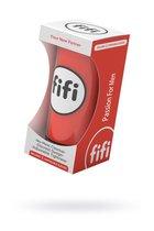 Красный нереалистичный мастурбатор FIFI MALE, цвет красный - fifi