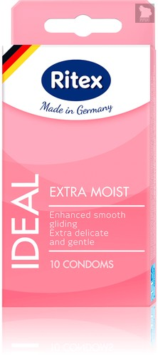 Презервативы Ritex Ideal №10 10328RX, цвет розовый - RITEX