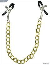 Зажимы для груди, регулируемые, 42 г, P3337 - Penthouse