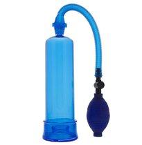 Синяя вакуумная помпа MENZSTUFF PENIS ENLARGER, цвет синий - Dream toys