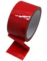 Красный скотч для бондажа - 17 м., цвет красный - Eroticon