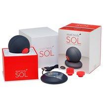 Магнитно-левитационный вибратор Revel Body SOL Sonic Vibrator, цвет красный/черный - Revel Body