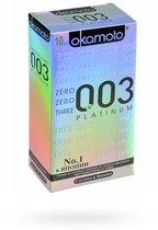 Презервативы Okamoto - Platinum супер тонкие, 10 шт. - Okamoto