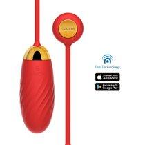 Интерактивная вибропуля EllaNeo, цвет красный - Svakom