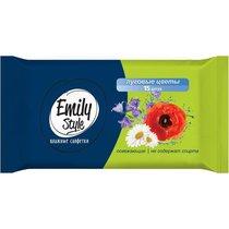 Emily Style Луговые цветы Салфетки влажные универсальные 15шт/упак - Bioritm