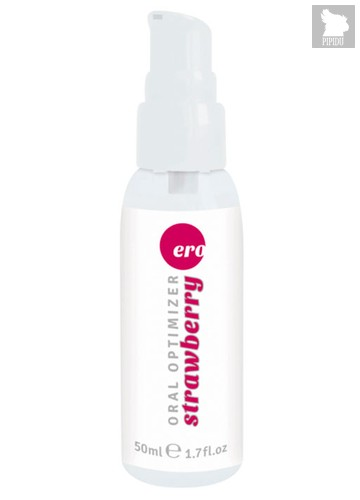 Оральный лубрикант Ero Blowjob Gel optimizer - Strawberry, клубничный, 50 мл - HOT