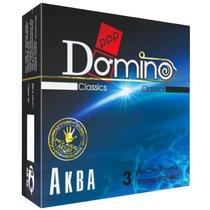 Презервативы Domino Аква - 3 шт. - LUXLITE