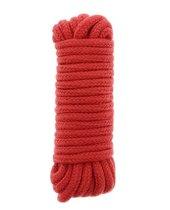 Красная веревка для связывания BONDX LOVE ROPE - 5 м., цвет красный - Dream toys