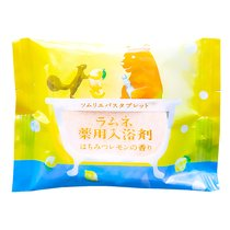 Расслабляющая соль-таблетка для ванн с ароматом меда и лимона 40 г - Charley