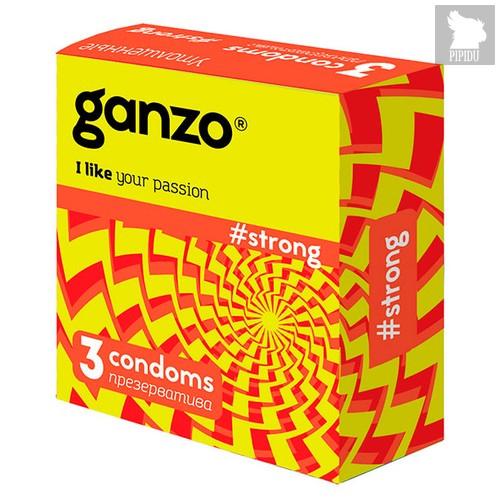 Презервативы Ganzo Strong №3 суперпрочные, 72 шт. - Ganzo