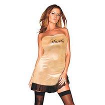 Платье Sandrine, цвет золотой, M-L - Hustler Lingerie