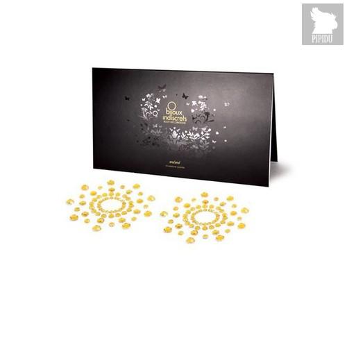 Bijoux Украшение на грудь MIMI золотое - Bijoux Indiscrets