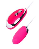 Розовое виброяйцо A-Toys - 6,5 см., цвет розовый - Toyfa