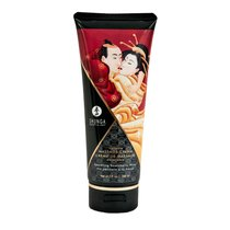 Массажный крем для тела с ароматом малины Raspberry feeling - 200 мл - Shunga Erotic Art
