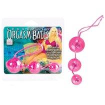 Вагинальные шарики Graduated Orgasm Balls - Pink, цвет розовый - California Exotic Novelties