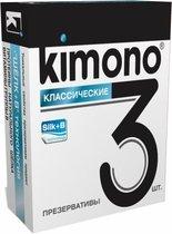Классические презервативы KIMONO - 3 шт. - Kimono